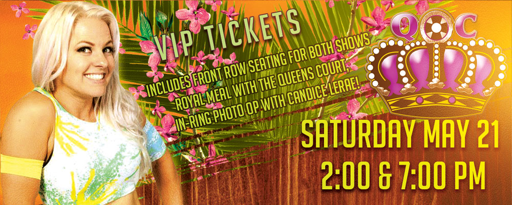 May 21 – VIP Tickets